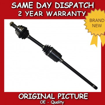BMW X5 (E53) DRIVESHAFT + CV-JOINT OFF SIDE 2000>on *BRAND NEW*