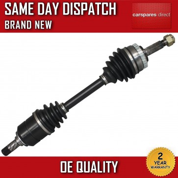 VAUXHALL CORSA C 1.3,1.4,1.7,1.8 DRIVESHAFT + CV-JOINT NEAR SIDE *BRAND NEW*