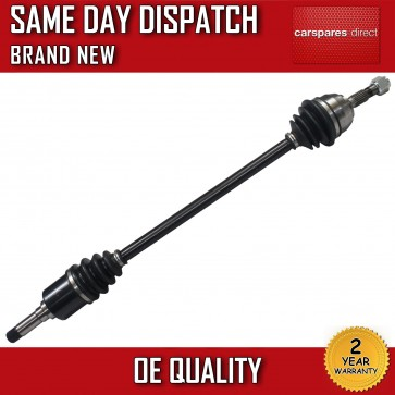 PEUGEOT 106 DRIVESHAFT 3 STUD WHEEL FRONT RIGHT OFF/DRIVER SIDE *BRAND NEW*