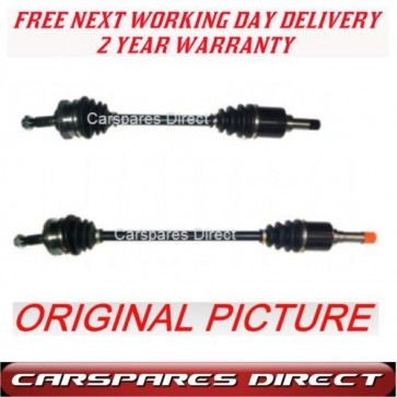 2x Peugeot 106 (4 STUD WHEEL) Driveshaft LH RH NEW PAIR
