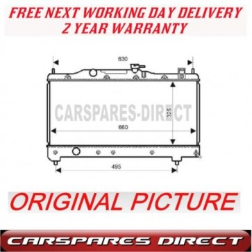 Toyota Avensis T22 1.6 1.8 97>00 Manual RADIATOR New***