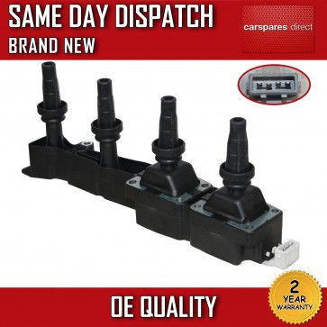 PEUGEOT 307 1.6 2000>ON CASSETTE IGNITION COIL RAIL PACK 96363378 597080 **NEW**