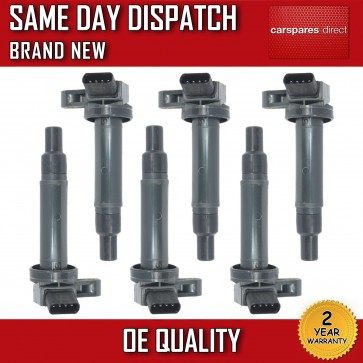 TOYOTA LAND CRUISER 4.7 1998 > on 6-SET-PACK PENCIL IGNITION COIL *BRAND NEW*