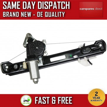 FORD FOCUS COMPLETE ELECTRIC WINDOW REGULATOR REAR LEFT PASSENGER 98>05 NEW