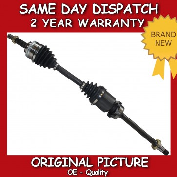 TOYOTA AVENSIS T22 2.0 TD 97>03 RIGHT/ OFF SIDE CV JOINT COMPLETE DRIVESHAFT NEW