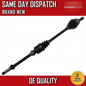 PEUGEOT 307 1.4,1.6 DRIVESHAFT RIGHT SIDE,DRIVER SIDE OFF SIDE 2001>on *NEW*