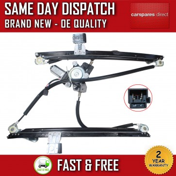 CHRYSLER VOYAGER MK3 WINDOW REGULATOR FRONT LEFT WITH MOTOR 4/5 DOOR 2004>2008