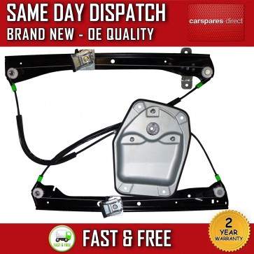 VW GOLF MK5 V 03>09 FRONT RIGHT ELECTRIC WINDOW REGULATOR 2/3 DOORS WITH PANEL