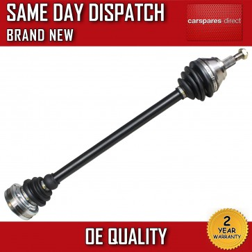 VW BORA 1.9 TDi DRIVESHAFT + CV-JOINT OFF SIDE 1999>2001 *BRAND NEW*