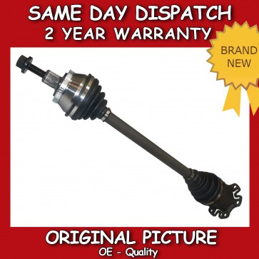 AUDI A4 1.8,1.9,2.4,2.5,3.0 DRIVESHAFT + CV JOINT RIGHT/OFF SIDE 2000>2009 *NEW*