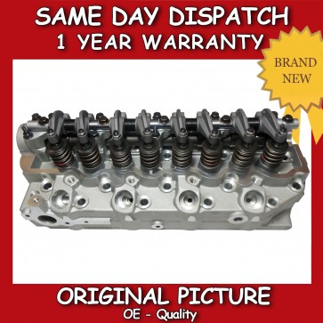 MITSUBISHI CYLINDER HEAD 4D56/T COMPLETE 1980>2003 *BRAND NEW*