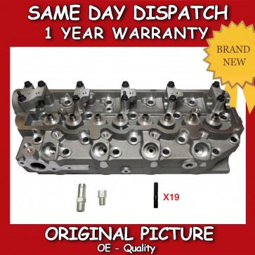 BARE CYLINDER HEAD FIT FOR A HYUNDAI H100 2.5 TD 1993>2000 *BRAND NEW*