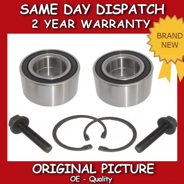 VW SHARAN FRONT WHEEL BEARING PAIR (x2) 1996-2010 *BRAND NEW*