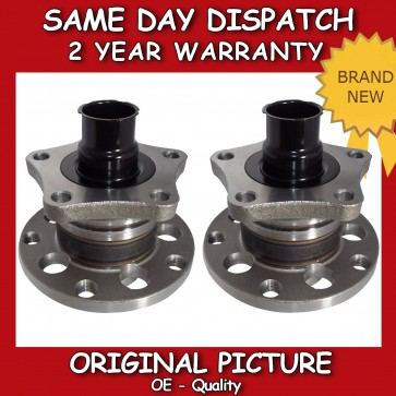 AUDI A6, SKODA SUPERB, VW PASSAT WHEEL BEARING WITH HUB x2 REAR PAIR 1994>08 NEW