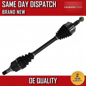 DRIVESHAFT + CV-JOINT FIT FOR A NISSAN NV400 2.3 DCI NEAR SIDE 2011>on *NEW*