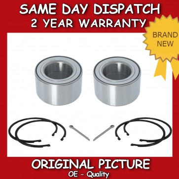 FRONT 2X WHEEL BEARING FIT FOR A NISSAN ALMERA TINO 1.8,2.0,2.2 2000>on *NEW*