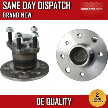 VAUXHALL COMBO 1.3,1.4,1.6,1.7 REAR 2X WHEEL BEARING + HUB + NUT 2001>on *NEW*
