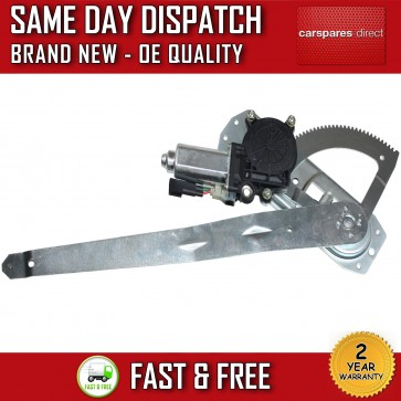FORD TRANSIT Mk5 FRONT RIGHT WINDOW REGULATOR DRIVER SIDE WITH MOTOR 1994>2000