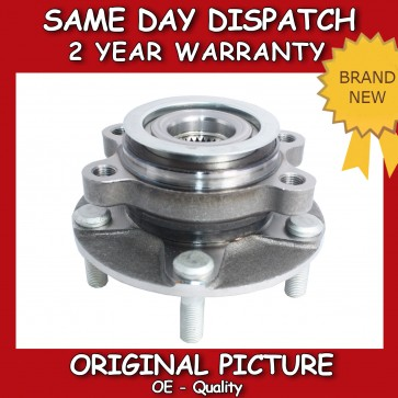 FRONT WHEEL BEARING FIT FOR A NISSAN X_TRAIL 2.0,2.5 2007>on *BRAND NEW*