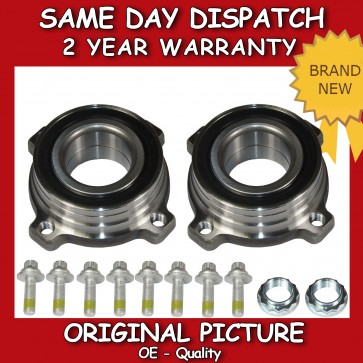 BMW 5 SERIES (E39/E60) 2.0,2.5,2.8,3.0 REAR WHEEL BEARING X2 REAR PAIR 1996>10