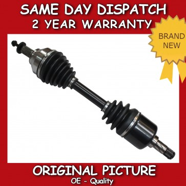 FORD FOCUS MK2 2.5 ST DRIVESHAFT NEAR/SIDE & CV JOINT 2005>ONWARDS *BRAND NEW*