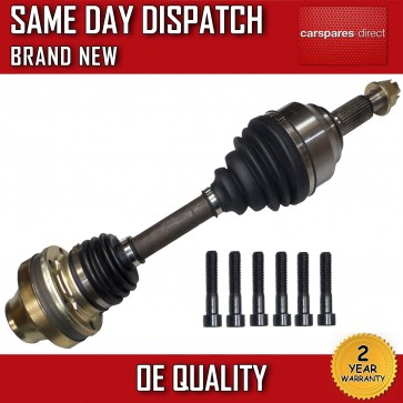 PORSCHE CAYENNE 3.6,4.8 DRIVESHAFT & CV JOINT OFF/RIGHT/DRIVER SIDE 2007>on NEW