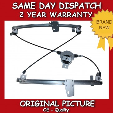 WINDOW REGULATOR FIT FOR A NISSAN QASHQAI FRONT RIGHT W/O MOTOR 2007>on NEW