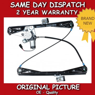 JAGUAR S-TYPE FRONT LEFT SIDE WINDOW REGULATOR WITH MOTOR 1999>2003 *NEW*