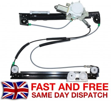 MINI ONE FRONT LEFT SIDE WINDOW REGULATOR WITH ELECTRIC MOTOR 2001>2006