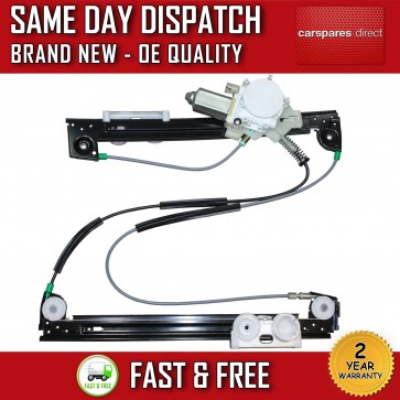 MINI COOPER FRONT RIGHT SIDE WINDOW REGULATOR WITH ELECTRIC MOTOR 2001>2006