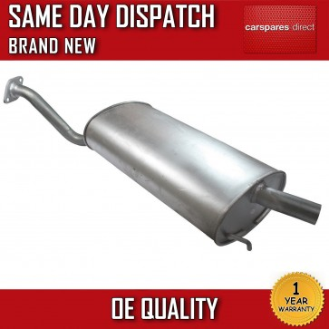 ROVER MG MGZR ZR 1.4 EXHAUST REAR BACK BOX SILENCER 2001-2006 *NEW* 100% QUALITY