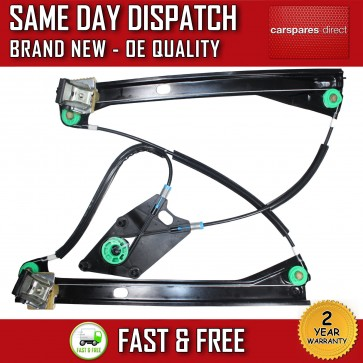 VW POLO 6R HATCHBACK FRONT RIGHT SIDE ELECTRIC WINDOW REGULATOR 4 DOORS 2010>ONW