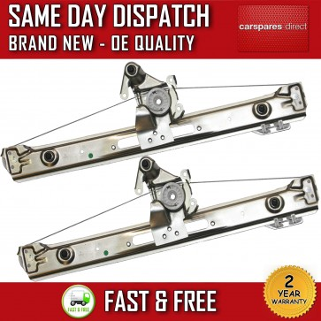 BMW 3 SERIES E46 SET OF TWO ELECTRIC WINDOW REGULATOR REAR LEFT & REAR RIGHT NEW