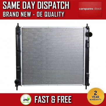 MANUAL RADIATOR FIT FOR A NISSAN CUBE,JUKE 2007>ON 1.5 DIESEL 2 YR WARRANTY NEW