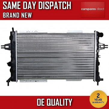 VAUXHALL ASTRA / ZAFIRA 1998>2005 DTI/TURBO DIESEL MANUAL RADIATOR 2 YR WARRANTY