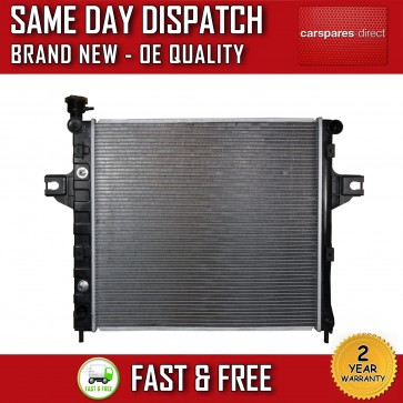 JEEP GRAND CHEROKEE/ CHEROKEE XJ AUTOMATIC/MANUAL RADIATOR 2 YEAR WARRANTY *NEW*