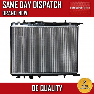 PEUGEOT 206 1.1 1.4 1.6 1.9 2.0 1998>ON MANUAL RADIATOR 2 YR WARRANTY *NEW*