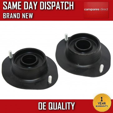 VAUXHALL ASTRA F Mk3 FRONT SUSPENSION TOP STRUT MOUNTS PAIR WITHOUT BEARINGS x2