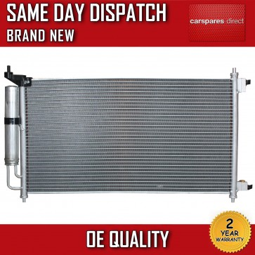 CONDENSER FIT FOR A NISSAN JUKE/NOTE 2006>ON AIRCON RADIATOR 2 YEAR WARRANTY NEW
