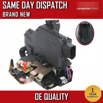 Front Right Side Central Door Lock Mechanism For Audi A6 1997>2005 *NEW* 9 PIN