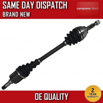 PEUGEOT EXPERT E7 TAXI DRIVESHAFT FRONT LEFT/NEAR SIDE 2007>on *BRAND NEW*