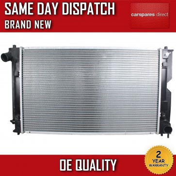 TOYOTA AVENSIS/COROLLA/VERSO 2.0 D4D DIESEL MANUAL RADIATOR 2 YR WARRANTY *NEW*