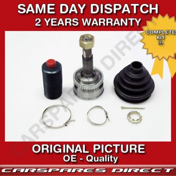 DRIVESHAFT + OUTER CV-JOINT FIT FOR A NISSAN ALMERA / SUNNY 1.4 90>on *NEW*