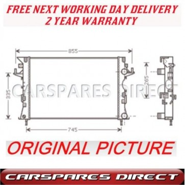 RENAULT LAGUNA 1.6/1.8/1.9/2.0  01-07 NEW RADIATOR