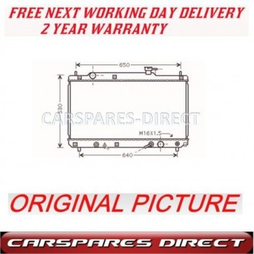 TOYOTA HARRIER 2.2 16V 1997>2000 AUTOMATIC RADIATOR NEW