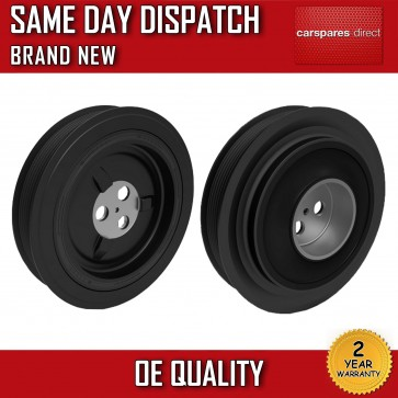 FORD TRANSIT 2.4 TDCi 2006>ONWARDS CRANKSHAFT PULLEY 2 YEAR WARRANTY *BRAND NEW*