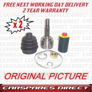 2x Driveshaft Outer CV JOINT FIT FOR A Nissan Micra K11 1.0 1.2 *BRAND NEW*