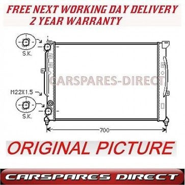 AUDI A6 1.8 1.9 2.8 95>05 MANUAL RADIATOR BRAND NEW 2YR WARRANTY
