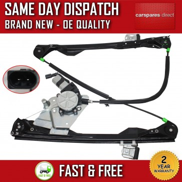 FORD FOCUS 1998>2005 FRONT LEFT SIDE ELECTRIC WINDOW REGULATOR WITH MOTOR 5 DOOR