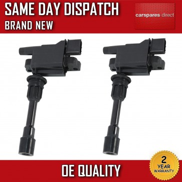 2x IGNITION COIL FIT FOR MAZDA 323 F/P / S Mk6 1.9/2.0  1998>2004 FFY1-18-100